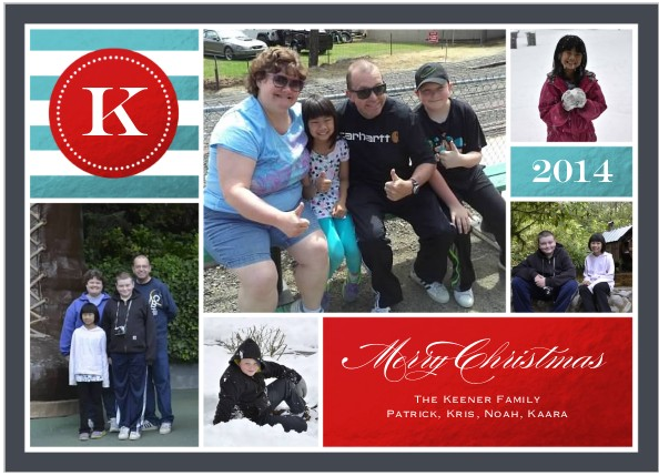 2014 Christmas Card Front