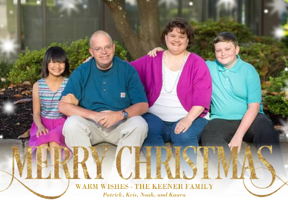 2015 Christmas Card Front